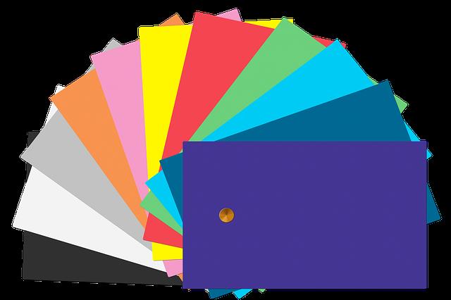 vzorkovnice barev