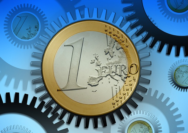 ozubené kolo – jedno euro