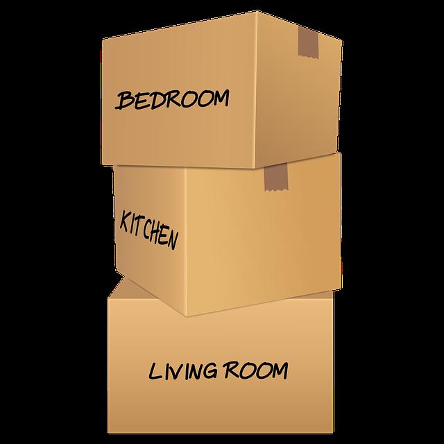 krabice připravené a popsané