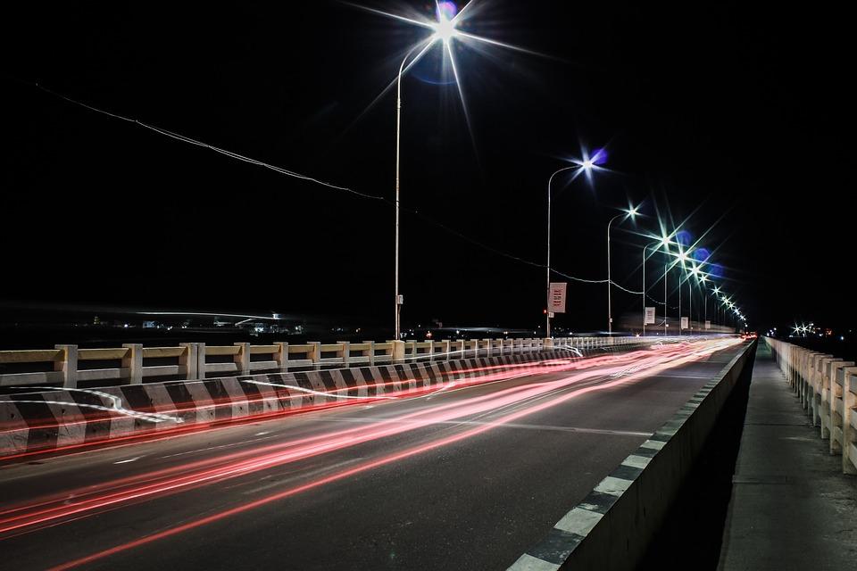 jízda po mostě